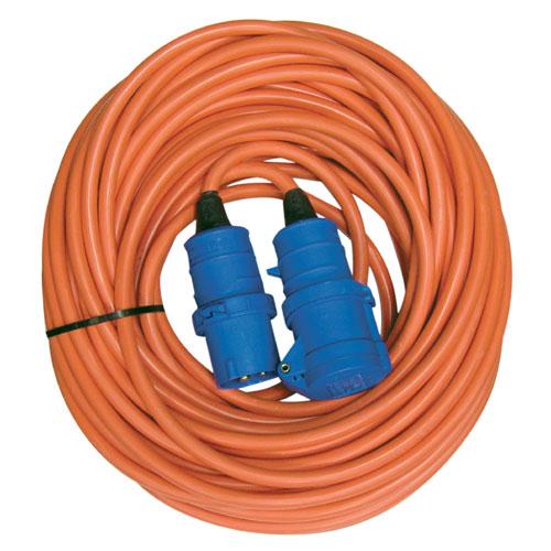 25m caravan electric hook up mains extension cable lead ebay. Black Bedroom Furniture Sets. Home Design Ideas