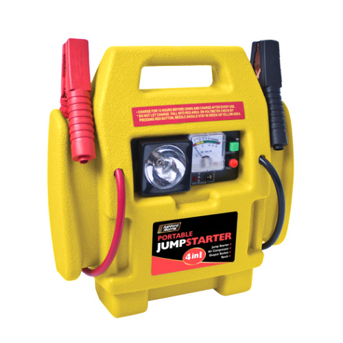 How To Jumpstart A Car Without Another Car >> 12V POWER PACK CAR ENGINE STARTER JUMP START BATTERY BOOSTER PLUS AIR COMPRESSOR