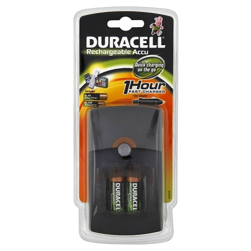 duracell accu fast battery charger 2 aa 2 aaa. Black Bedroom Furniture Sets. Home Design Ideas