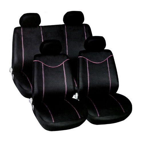 10PC BLACK Amp PINK CAR SEAT COVERS RACING STYLE COVER SET