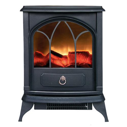 2kw stove heater log burning flame effect electric fire ebay. Black Bedroom Furniture Sets. Home Design Ideas