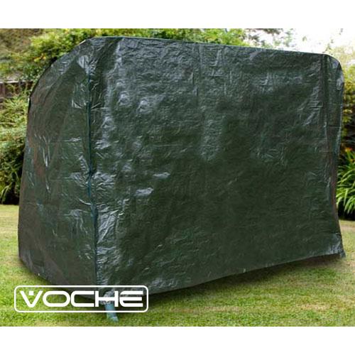 voche heavy duty waterproof 3 seater garden swinging hammock cover zips cord ebay. Black Bedroom Furniture Sets. Home Design Ideas