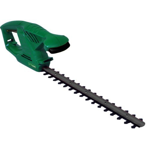 Lightweight 450w mains electric garden hedge trimmer bush for Lightweight garden shears