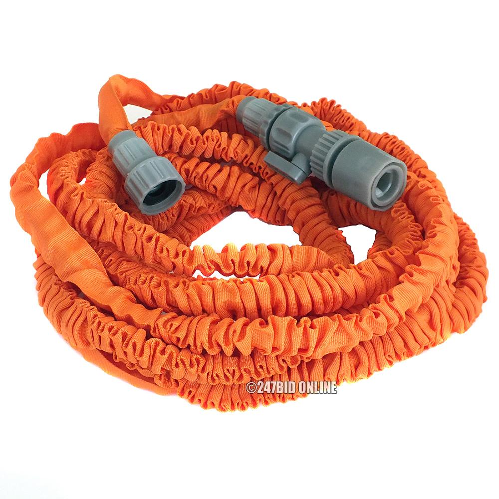 50ft expanding garden hose pipe with spray gun 15m