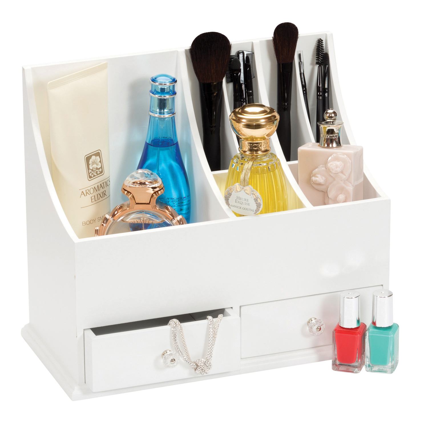 LADIES DRESSING TABLE COSMETIC MAKE UP HOLDER ORGANISER ...