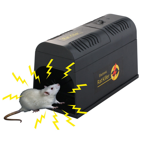 ELECTRONIC MOUSE RAT RODENT KILLER ELECTRIC ZAPPER TRAP