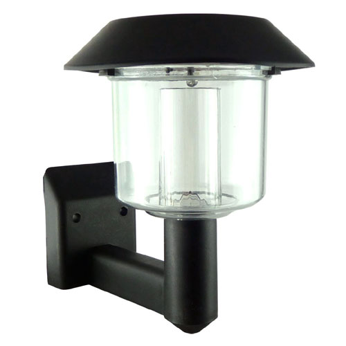Outside Wall Lights Solar Powered : 8xSOLAR POWERED LED DOOR FENCE WALL LIGHTS OUTDOOR GARDEN LIGHTING LANTERN eBay